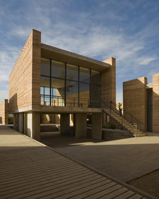 School of Plastic Arts, Oaxaca de Juárez, México, 2007. Image Courtesy of Taller de Arquitectura Mauricio Rocha + Gabriela Carrillo