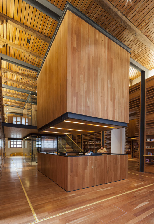 Library for Blind and Visually Impaired People, Ciudadela, Mexico City, 2012-2013. Image Courtesy of Taller de Arquitectura Mauricio Rocha + Gabriela Carrillo