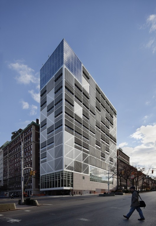 Columbia University Northwest Corner Building. Image © Michael Moran Studio