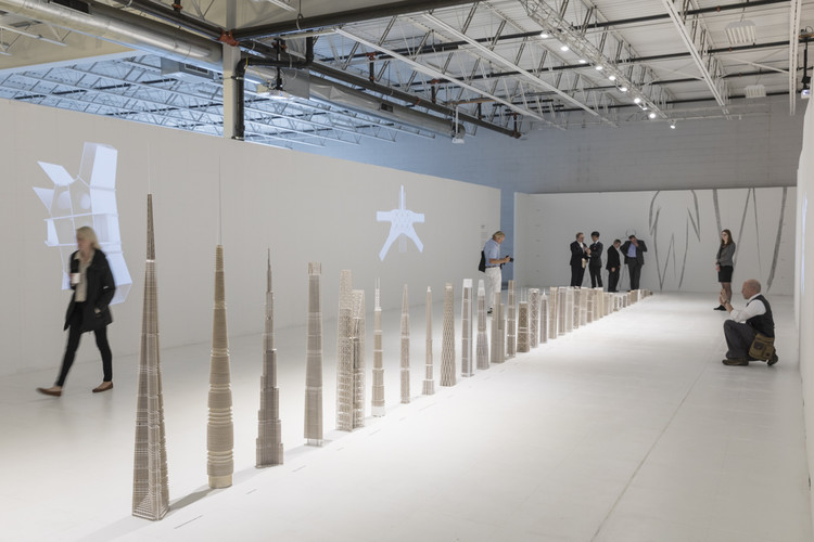 SOM Exhibits 30 Structural Skeleton Models Showing Evolution of Tall Building Design, © Laurian Ghinitoiu