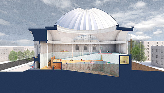 Burnham Prize 2017 Winners Announced for 'Under the Dome' Competition, Courtesy of Chicago Architectural Club