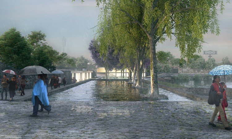 Gold Medal: Hydropuncture in Mexico. Image Courtesy of Global LafargeHolcim Awards