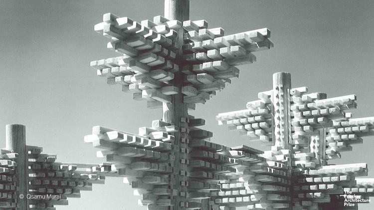 The City in the Air by Arata Isozaki, © The Pritzker Architecture Prize