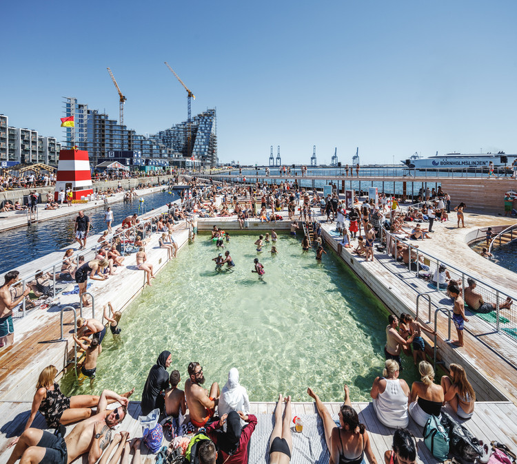 By the People, For the People: What is Public Architecture, According to our Readers, Aarhus Harbor Bath / BIG. Image: © Rasmus Hjortshøj