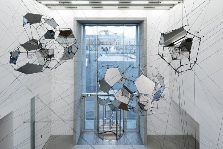 """""""We Designed an Exhibition that Presents the Bauhaus in all its Dazzling Diversity"""": Barbara Holzer Explains her Design for the New Bauhaus Museum, Tomás Saraceno """"Sundial for Spatial Echoes"""". Image © Andrew Alberts / Heike Hanada Laboratory of Art and Architecture"""