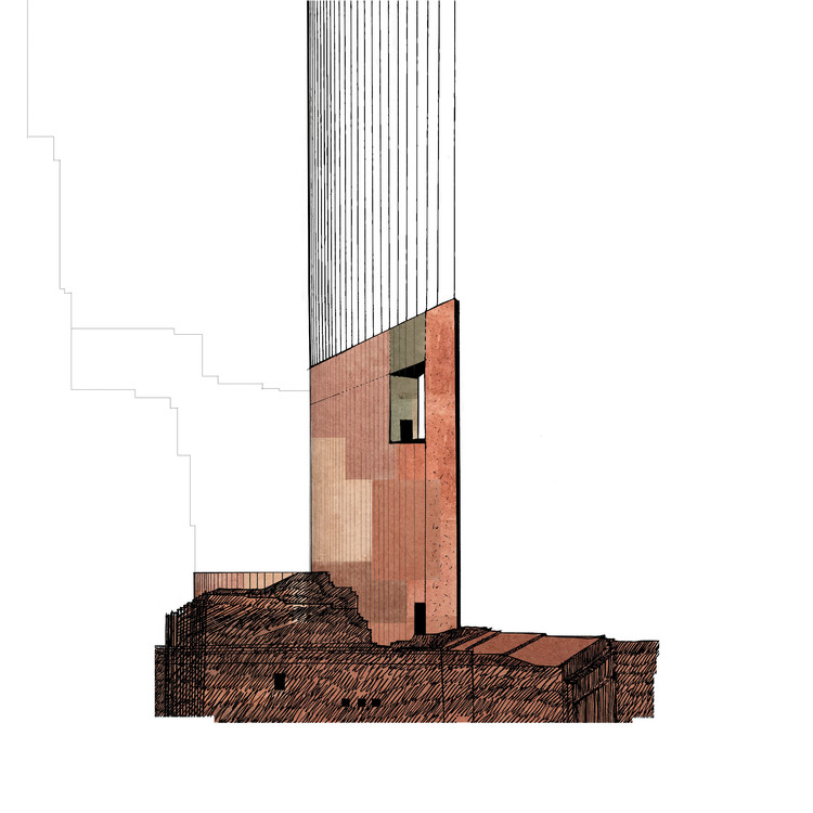 Pdda: A Series of Small Architectural Drawings, Courtesy of Gaetano Boccia