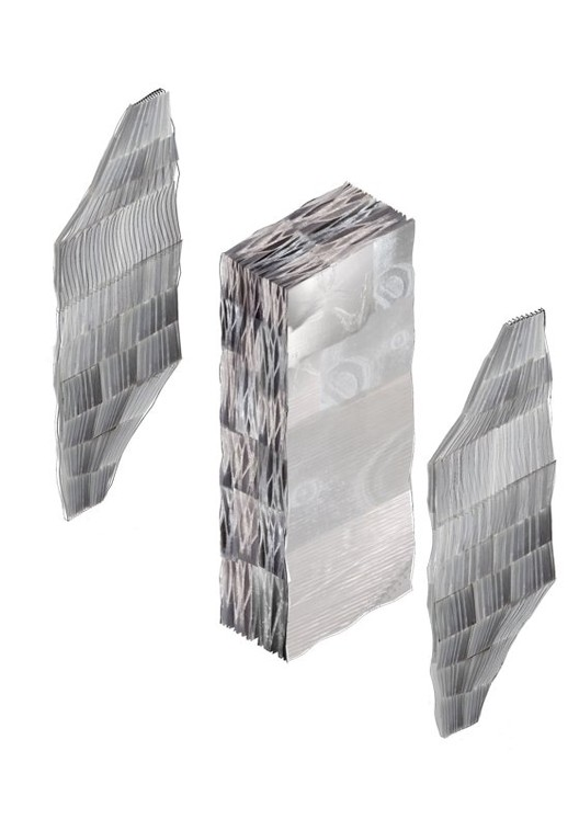 10 Solutions for Adaptive Walls for More Resilient Architecture , Image Courtesy of TuDelft and the Spong3d project