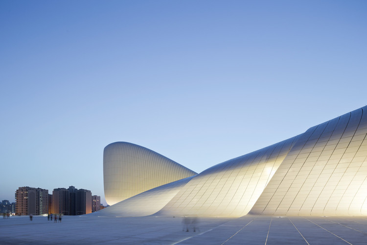 What is the Future of Concrete in Architecture?, Heydar Aliyev Centre / Zaha Hadid Architects. Image © Iwan Baan