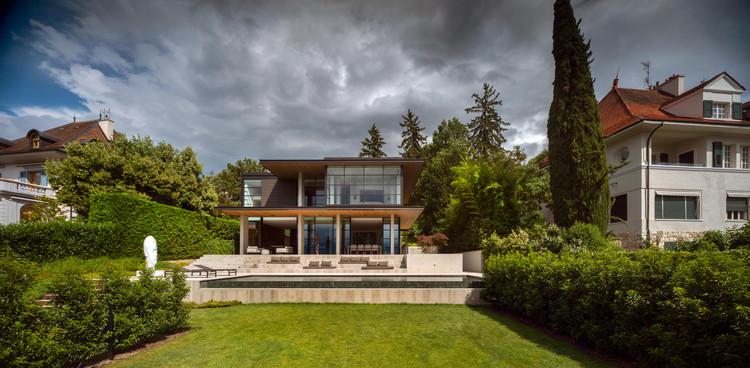 Chemin Byron House / Olson Kundig, © Nic Lehoux