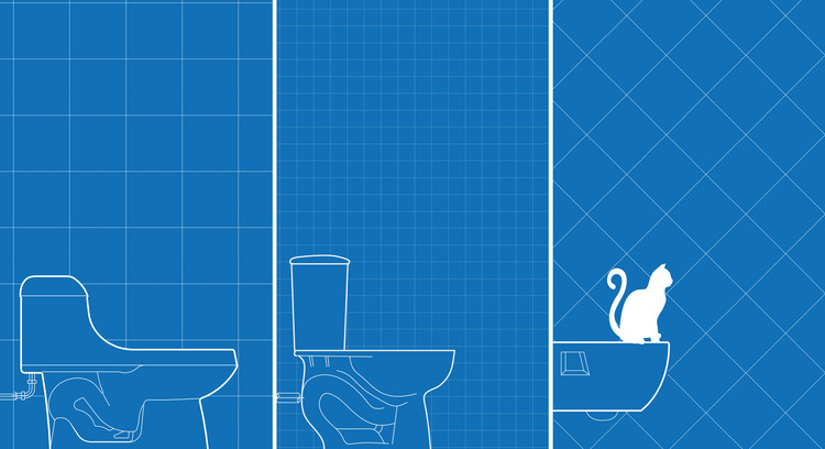 Basic Tips for Choosing a Toilet in an Architecture Project , © ArchDaily