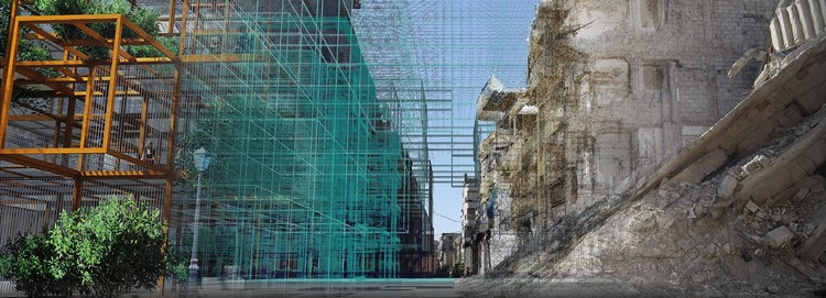 Reparametrize Studio and Digital Architects Re-Code Post War Syria, Courtesy of Reparametrize Studio