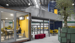 Spectris Innovation Centre  / Studium
