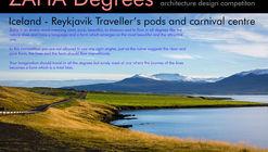 ZAHA Degrees - Iceland, Reykjavik - Traveller's Pods And Carnival Centre