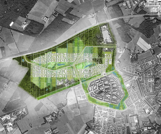 Brainport Smart District, Helmond, NL. . Image © UNStudio