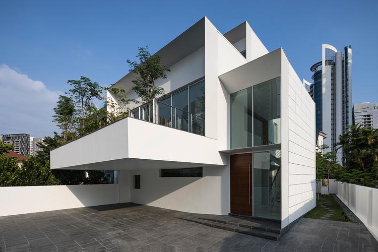 Hilltop House / Atelier M+A, © Masaki Harimoto