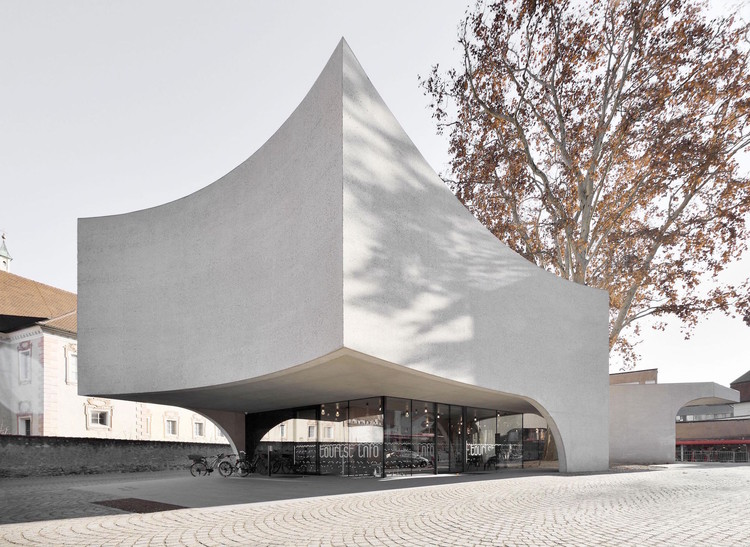 Call for Entries: ICONIC AWARDS 2020 - Innovative Architecture, Tourist Information Center by MoDus Architects, awarded selection in the ICONIC AWARDS 2019: Innovative Architecture. Image Courtesy of German Design Council