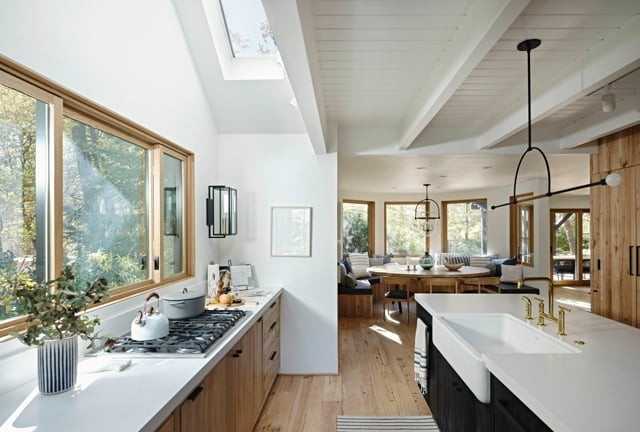 Healthy Living: How Natural Light and Fresh Air Transform Homes, Modern Kitchen, Courtesy VELUX