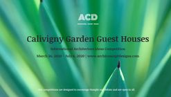 Calivigny Garden Guest Houses International Architecture Ideas Competition