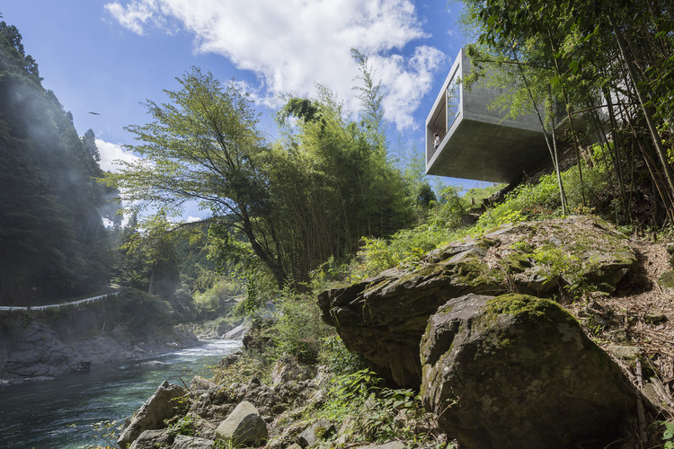 Cliff House / PLANET Creations Sekiya Masato Architecture Design Office, © Shinkenchiku-sha