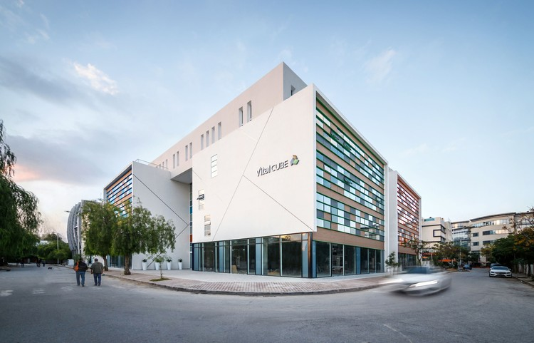 Vitalcube Medical Office Building / ARK-architecture + AUDA, © Bilel Khemakhem
