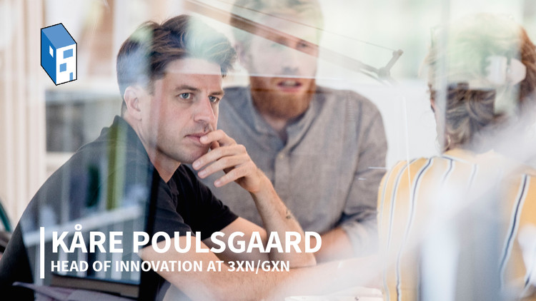 Kåre Poulsgaard, Head of Innovation at 3XN/GXN, on AI in Architecture, Kåre Stokholm Poulsgaard. Image © Melissa Oernstrup