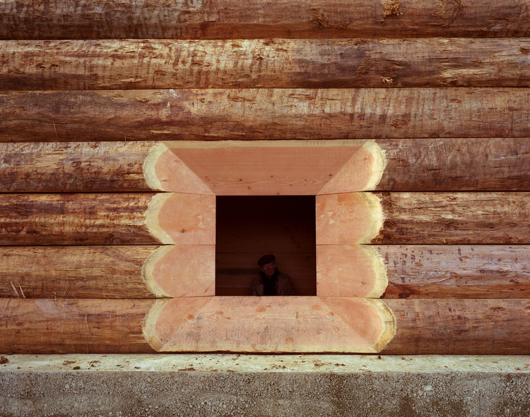 Architectonic & Structural Possibilities of Log Wood, © Photography Felix Friedmann