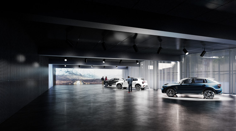 """Cobe Creates """"Chamber of Secrets"""" for Automaker in Sweden, Courtesy of Cobe"""