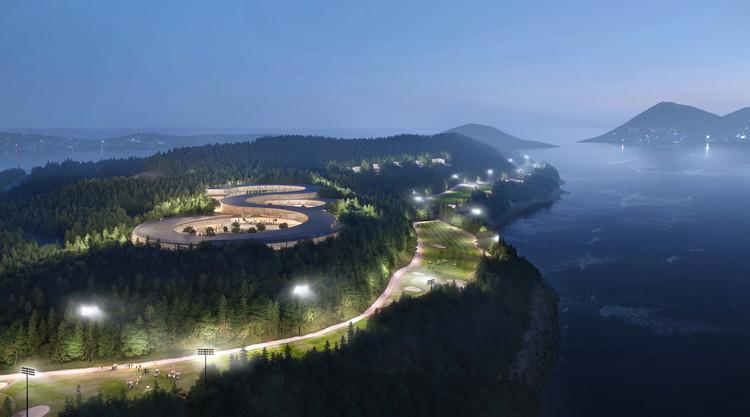 UNStudio Designs Gyeongdo Island, a new Sustainable Leisure Destination in South Korea, Courtesy of Plomp