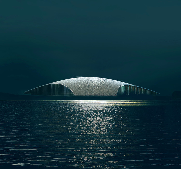 Get to Know These Distinguished Architectural Visualization Studios and Their Artwork, The Whale by Dorte Mandrup. Image © MIR