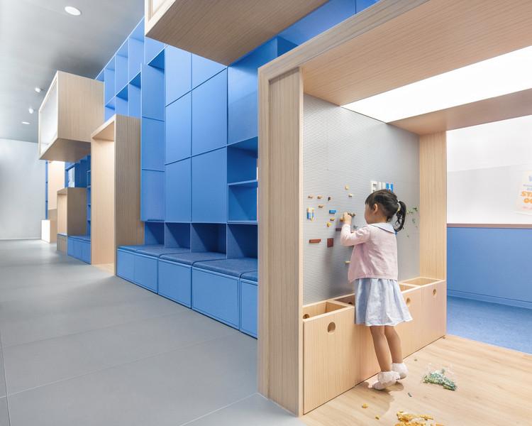 Neuroarchitecture Applied in Children's Design, Qkids English Center / Crossboundaries. Image © Yu Bai