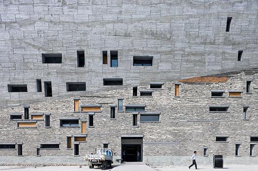 Amateur Architecture Studio, Ningbo History Museum, 2008. . Image Courtesy of Louisiana