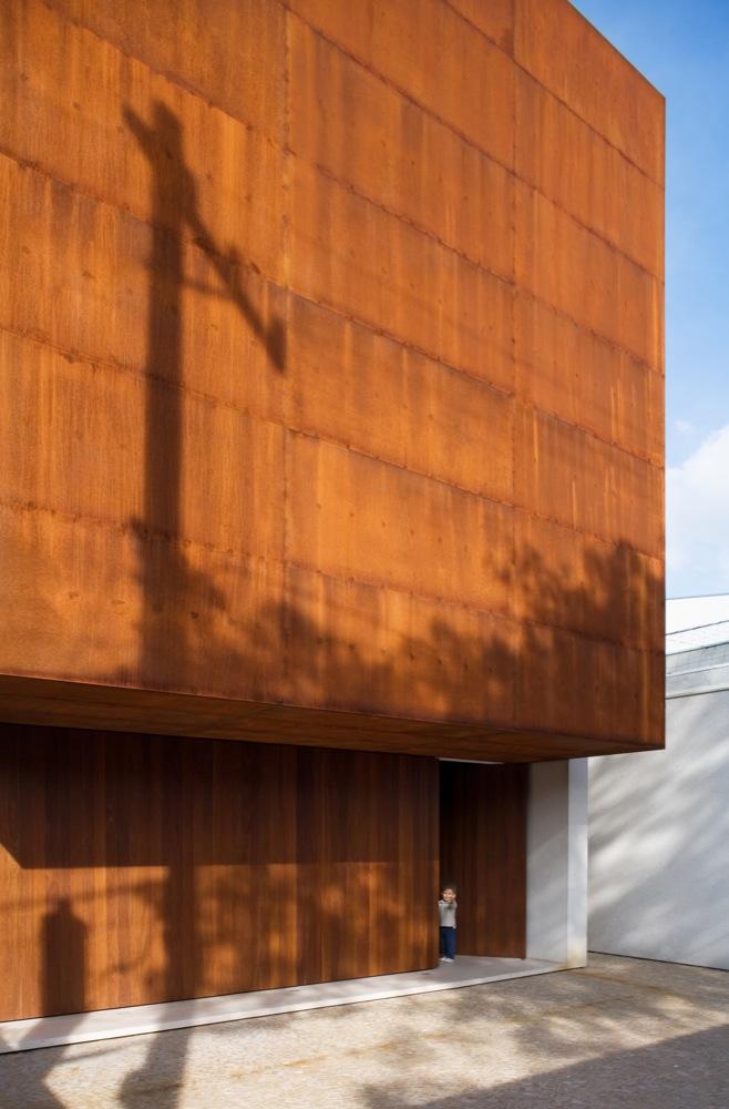 Casa Corten / Studio MK27 - Marcio Kogan, © Nelson Kon