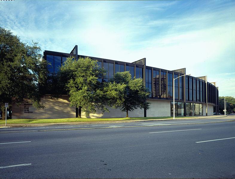 Clássicos da arquitetura:  Museu de Belas Artes de Houston - Mies van der Rohe / Houston - Texas,  Wikimedia Commons / Arquivos de MFAH