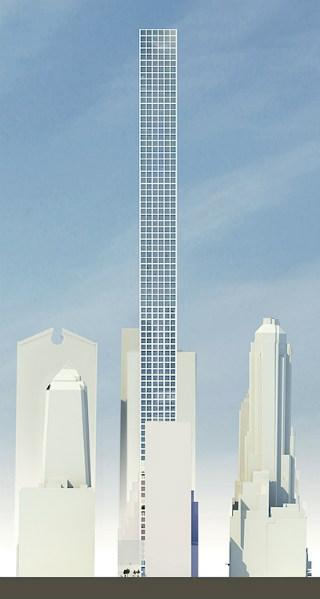 Arquiteto uruguaio Rafael Viñoly projetará o arranha-céu mais alto de Nova York / Nova York - Estados Unidos, Imagem de Wired