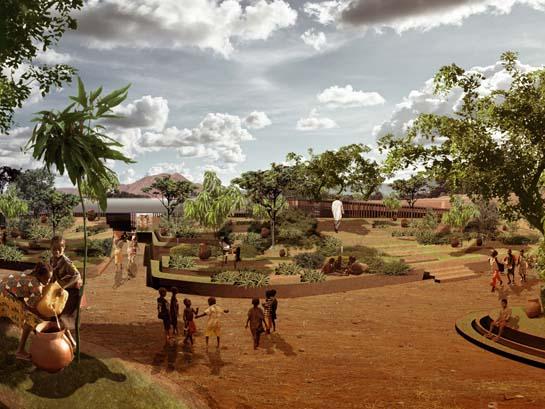 Os ganhadores do Holcim Awards 2011 / África e Medio Oriente, Primeiro Lugar - Kére Architecture