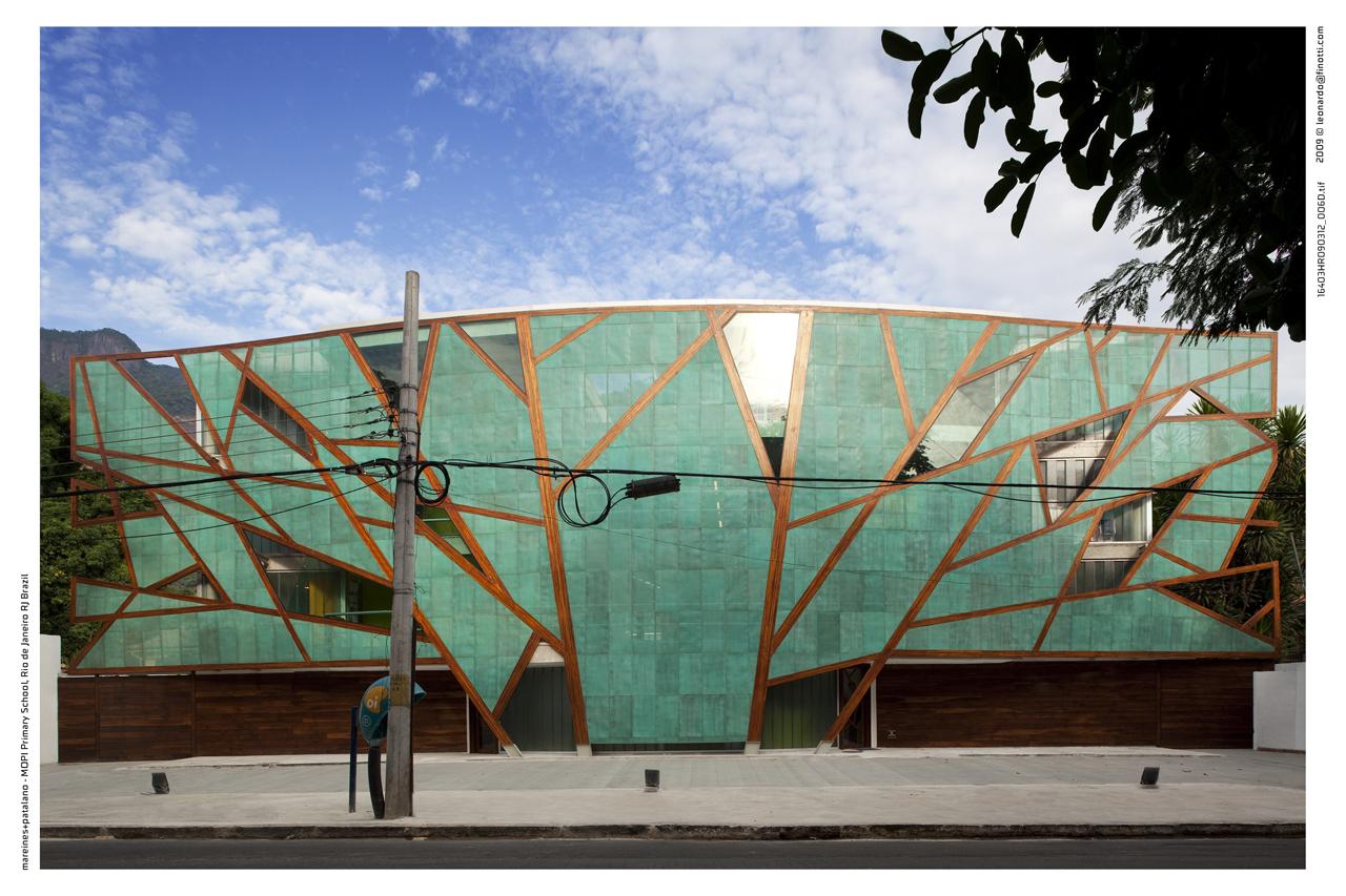 Escola MOPI / Mareines + Patalano, © Leonardo Finotti
