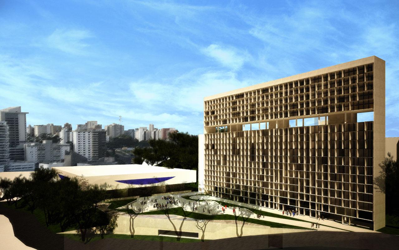Concurso Mercado Distrital do Cruzeiro - 3º Lugar / Arquitetos Associados, Cortesia Arquitetos Associados