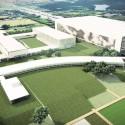Vista Aérea Centro Educacional e Centro de Eventos