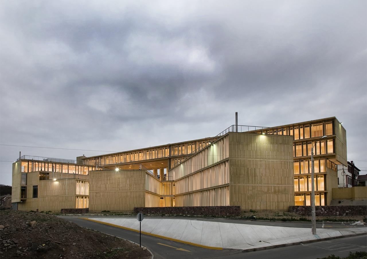 Edifício MOPTT La Serena / Teodoro Fernández Arquitectos