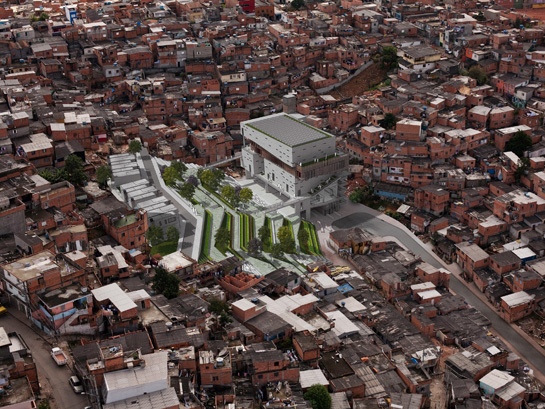Os ganhadores do Holcim Awards 2011 / América Latina, 1° Lugar - Alfredo Brillembourg, Urban Think Tank, Brasil
