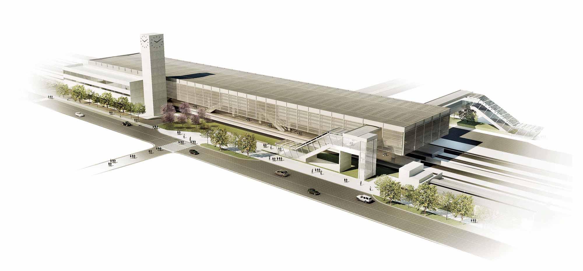 Estação Suzano / JBMC arquitetura & urbanismo, Cortesia JBMC arquitetura & urbanismo