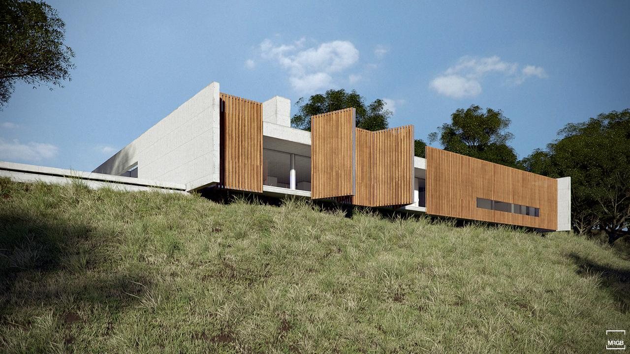 Casa no Vale / Estúdio MRGB , Cortesia Estudio  MRGB