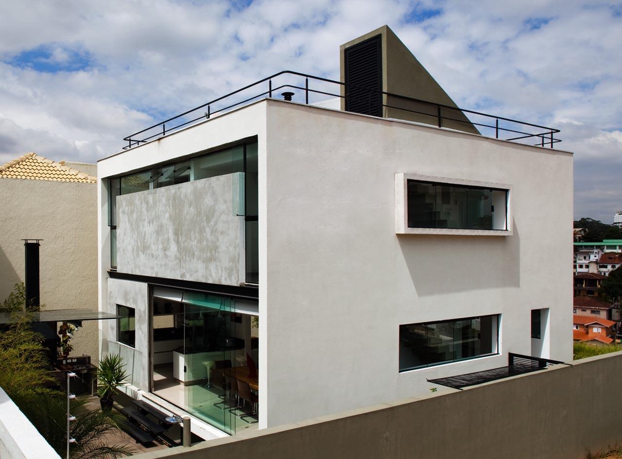 galeria de casa mirante do horto flavio castro arquitetos 35. Black Bedroom Furniture Sets. Home Design Ideas