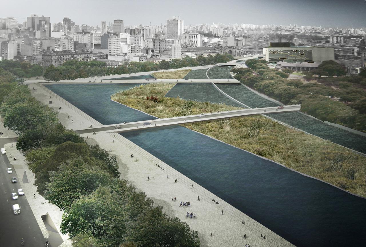 Plano Urbanístico Parque Dom Pedro II / Una Arquitetos, H+F arquitetos, Metrópole Arquitetos e Lume, Inserção - 02