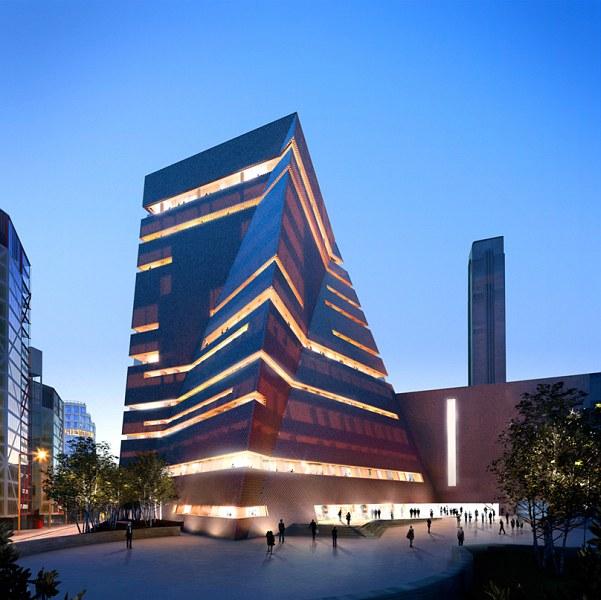 Em obras: Avanços do novo edifício Tate Modern de Herzog & De Meuron / Londres - Inglaterra, Render