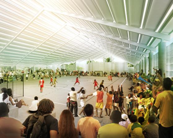 Herzog & de Meuron construirão um ginásio escolar no Brasil / Natal - RN, Imagem Interna