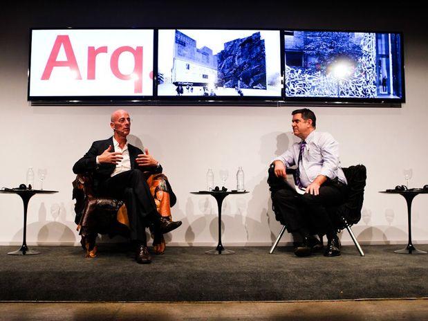 Aconteceu: Debate de Herzog e Terence Riley no Seminário Arq.Futuro - MuBE / São Paulo - SP, Julian Marques/Terra