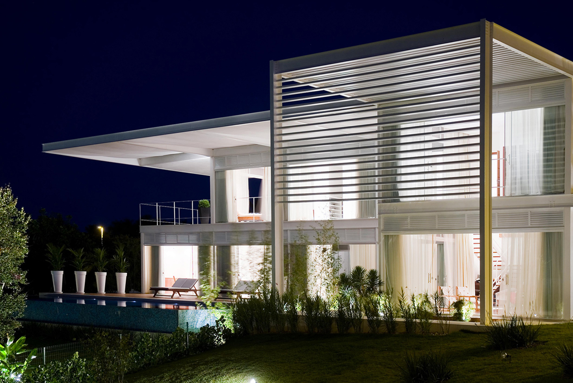 Residência Azul e Branca / André Luque Arquitetura, Cortesia André Luque Arquitetura