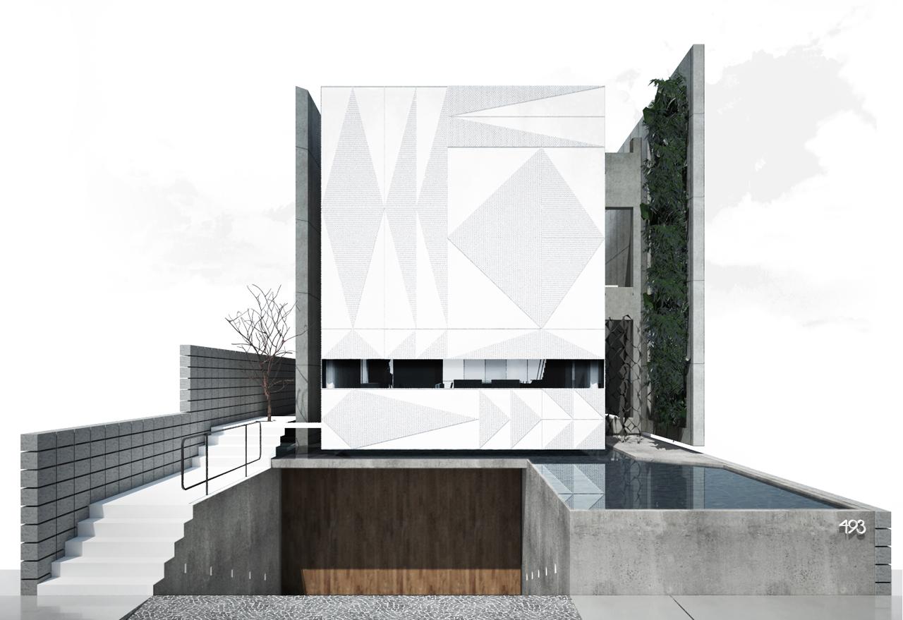 Residência Cantareira / Coletivo de Arquitetos, Cortesia Coletivo de Arquitetos
