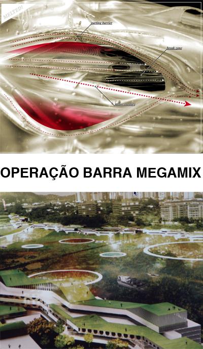 Exposição Operação Barra Megamix | Studio-X Rio / Rio de Janeiro - RJ, Convite divulgação